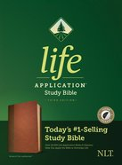 NLT Life Application Study Bible 3rd Edition Brown/Tan Indexed (Black Letter Edition) Imitation Leather