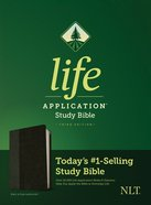 NLT Life Application Study Bible3 3rd Edition Black/Onyx (Black Letter Edition)