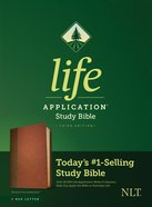NLT Life Application Study Bible 3rd Edition Brown/Tan (Red Letter Edition) Imitation Leather