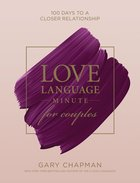 Love Language Minute For Couples eBook