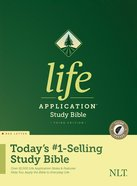 NLT Life Application Study Bible 3rd Edition Indexed (Red Letter Edition) Hardback
