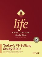 NIV Life Application Study Bible 3rd Edition Indexed (Red Letter Edition) Hardback