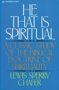 He That is Spiritual Paperback