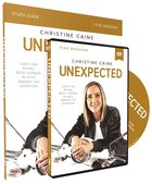 Unexpected: Leave Fear Behind, Move Forward in Faith, Embrace the Adventure (Study Guide With Dvd) Paperback