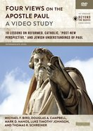 Four Views on the Apostle Paul : 18 Lessons on Reformed, Catholic, 'Post-New Perspective', and Jewish Understandings of Paul (Video Study) (Zondervan DVD