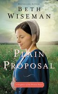 Plain Proposal (Daughters Of The Promise Novel Series) Mass Market