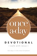 Once-A-Day Walk With Jesus Devotional Paperback