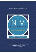 NIV Study Bible Fully Revised Edition Personal Size (Red Letter Edition) Paperback