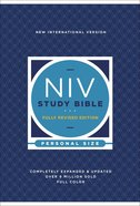 NIV Study Bible Fully Revised Edition Personal Size (Red Letter Edition) Hardback