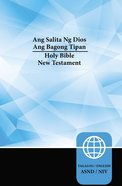 Tagalog/Niv Tagalog/English Bilingual New Testament Paperback