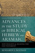 Advances in the Study of Biblical Hebrew and Aramaic: New Insights For Reading the Old Testament Paperback