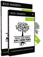 What on Earth Am I Here For? (DVD & Study Guide) (The Purpose Driven Life Series) Pack