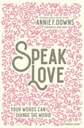 Speak Love eBook