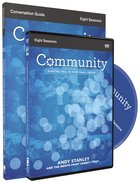 Community (Conversation Guide With Dvd) Pack