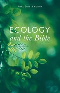 Ecology and the Bible eBook
