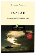 Isaiah (Lifeguide Bible Study Series) Paperback