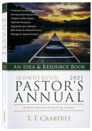 The Zondervan 2021 Pastor's Annual: An Idea and Resource Book Paperback