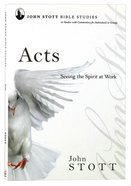 Acts (John Stott Bible Studies Series) Paperback