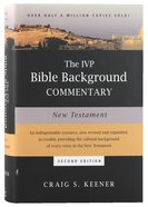 New Testament (2nd Edition) (Ivp Bible Background Commentary Series) Hardback