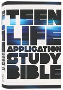 NLT Teen Life Application Study (Black Letter Edition) Hardback