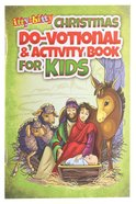 Activity Book Christmas Do-Votionals (Ages 5-10) (Itty Bitty Bible Series) Paperback