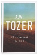 The Pursuit of God Paperback