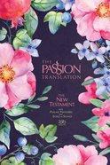 TPT NT 2020 Fabric Hardcover Berry Blossoms (Black Letter Edition) (New Testament With Psalms, Proverbs And The Song Of Songs) Fabric Over Hardback
