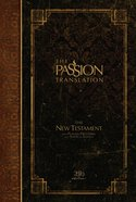 TPT New Testament With Psalms, Proverbs and Song of Songs Espresso (Black Letter Edition) Hardback