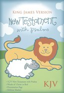 KJV Baby's New Testament With Psalms Pink Imitation (Red Letter Edition) Imitation Leather