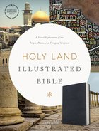 CSB Holy Land Illustrated Bible Premium Black Genuine Leather