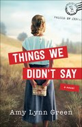 Things We Didn't Say eBook