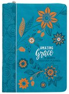 2021 18-Month Weekly Diary/Planner: Amazing Grace (Faux Ziparound) Imitation Leather