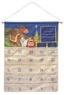 Hanging Christmas Countdown (Includes One Plush Shepherd and 2 Special Pocket Messages) (Shepherd On The Search Series) Soft Goods