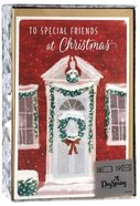 Christmas Boxed Cards: Special Friends Holiday Wreath (Phil 1:7 Nlt) Stationery
