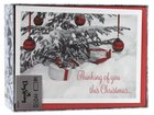 Christmas Boxed Cards: Thinking of You This Christmas (Matt 2:11 Kjv) Stationery