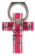 Mobile Phone Cross Ring Holder/Stand: Shine Bright (Matthew 5:16) Undefined
