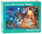 Christmas Jigsaw Puzzle Heavenly Night, 100 Pieces General Gift