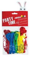 Balloons Pack of 20: Red, Rose, Yellow, Green & Blue, Smile Jesus Loves You Novelty