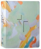 ESV Jesus Bible Multi-Color Teal Premium Imitation Leather