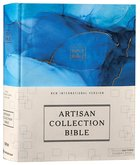 NIV Artisan Collection Bible Blue (Red Letter Edition) Fabric Over Hardback