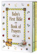 Baby's First Bible and Book of Prayers (2 Book Gift Set) Pack