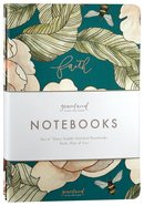 Notebook: Gracelaced: Faith, Hope, Love (Set Of 3) Stationery