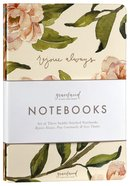 Notebook: Gracelaced: Rejoice, Pray, Give (Set Of 3) Stationery