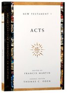 Accs NT: Acts (Ancient Christian Commentary On Scripture: New Testament Series) Paperback