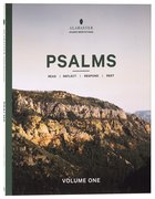 NLT Psalms 1-72 (Alabaster Guided Meditations Series) (Alabaster Guided Meditations Series) Paperback