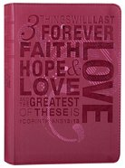NLT Teen Slimline Bible 1 Cor 13 Hot Pink (Red Letter Edition) Imitation Leather
