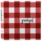 Guided Journal: Grateful, Pearlescent Cover, Red/White Flexi Back