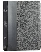 TPT New Testament Gray (Black Letter Edition) (With Psalms, Proverbs And The Song Of Songs) Imitation Leather