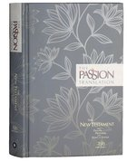 TPT New Testament Floral (Black Letter Edition) (With Psalms, Proverbs And The Song Of Songs) Hardback