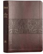 TPT New Testament Large Print Burgundy (Black Letter Edition) (With Psalms, Proverbs And The Song Of Songs) Imitation Leather